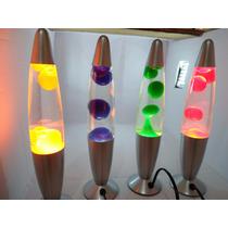 Luminaria Abajur Bolha Lava Lamp - 34cm 110v