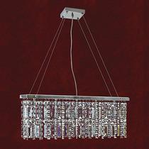 Pendente Wegas De Cristal Placas 5 Lamp