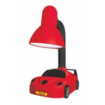 Luminária De Mesa/abajur Infantil Carros Vermelho