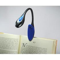 Mini Luminária De Led Para Leitura De Livros Emborrachada