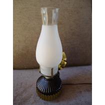 Lampião De Lâmpada Década 80 - Sem Uso