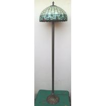 Abajur Pedestal Coluna Tiffany Cod 272