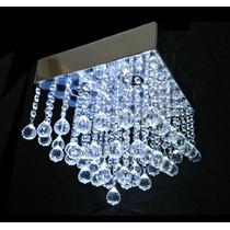 Lustre De Cristal Importado 49 Bolas Base 30x30 Com 4