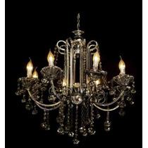 Lustre De Braço Cristal Imperial Diamound 588/8