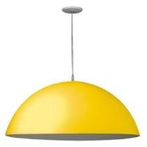 Lustre Sala Ou Cozinha Amarelo