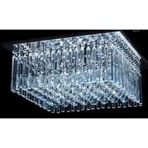 Lustre Plafon Cristal K9 Acrilico Iluminacao Qutb 60 Dna
