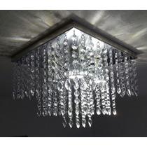 Luminária De Cristal Alto Brilho Mais Barata Do Mercado