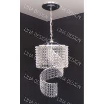 Lustre De Cristal Alto Brilho - Modelo Jundiaí - Lina Design