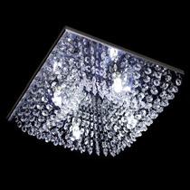 Lustre Cristal Plafon Quadrado 30x30x10cm - Jp/kyoto/30