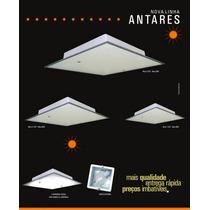 Kit Com 6 Plafon Antares M ( Sobrepor ) 30 Cm X 30 X 80