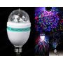 Lâmpada De Led Luz Colorida Rotativa Festa Eventos + Forte