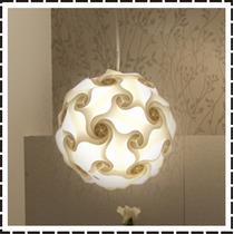 Lustre Pendente Bola Mexicana - 28cm - Luminária Iq Light