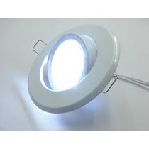 Kit Spot Direcionável Branco + Lampada 20 Leds Branco Frio