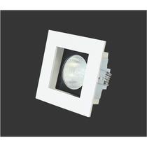 Spot De Embutir Quadrado Modular Móvel P/ Lamp. Dicroica