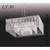 Lustre Pendente Cristal Egípcio Lt50 - Preço De Fabrica