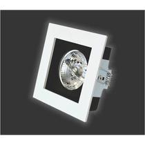 Spot De Embutir Quadrado Modular Móvel P/ Lamp. Ar 111