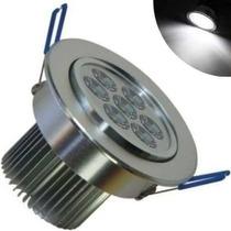 Kit Spot Super Led Lampada Direcionável 7w Para Teto Gesso