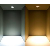 Painel Plafon Luminaria Led Redondo Embutir Ultra Slim 12w