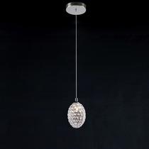 Pendente De Metal E Cristal Ga014 Bivolt Bella