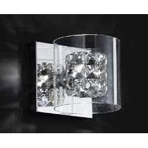 Arandela Em Cristal Bella Iluminação Ho028