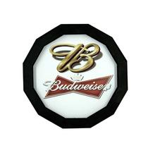 Luminoso De Madeira Para Bar - Cerveja Budweiser