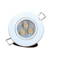 Kit Spot Branco Led 3w Lampada Direcionável Frete Barato !