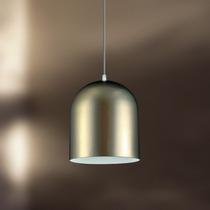 Pendente Alumínio Sala Ø18 - Lustre Luminária Cozinha