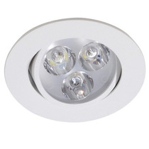 Kit Spot Branco Led 3w Lampada Direcionável Leve 20 Pague 18