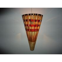 Arandela Cone Samanbaia, Luminárias Rusticas Artesanais