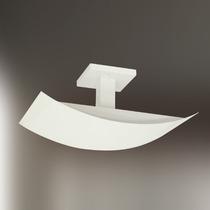 Plafon Alumínio Retangular 40x25 - Lustre Sala - Quarto