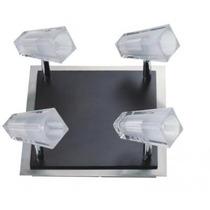 Spot Quadrado Direcionável - Lustre Sala - Luminária Quarto