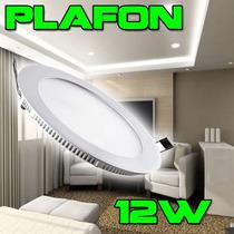 5 Luminarias Plafon Spot Led Embutir Ultra Slim Lampada 12w