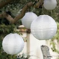 10 Und. Luminária Japonesa Chinesa Abajur Lanterna Colorida