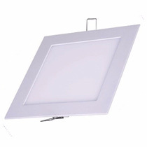 Painel Plafon Luminaria Led Ultra Slim 18w Kit 10 Unidades