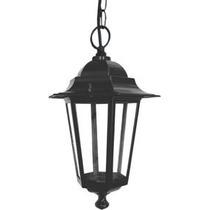 Luminária Pendente Colonial Taschibra Tlf 28 Preta