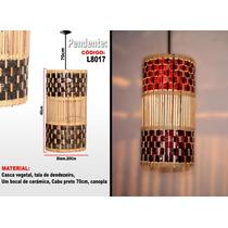Luminárias Artesanais , Lustre Pendente L8019