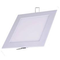 Painel Plafon Luminaria 3d Xadrez 25w Branco Frio Embutir