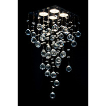Lustre De Cristal Asfour - Preço Imbatível - Lâmpada Inclusa