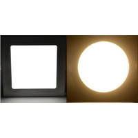 Painel Luminária Plafon Led 12w Embutir Alumínio Branco Bvlt