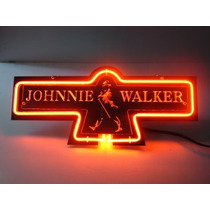Pronta Entrega Luminosos Neon - Display Wisky Johnnie Walker