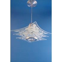 Lustre Vidro - Pendente P/ Quarto, Sala, Cozinha Ou Banheiro