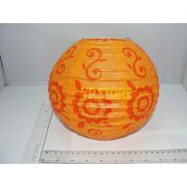 Luminária Japonesa Chinesa Tyotin 20cm Estampada