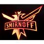 Quadro Luminoso De Led Neon Vodka Smirnoff P/ Barman Balada