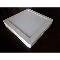 Plafon Luminaria Led 25watts Bi-volt Quadrado 30x30 Sobrepor