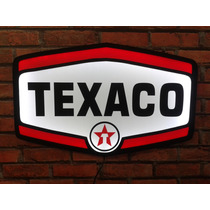 Placa Luminoso Texaco 50cm