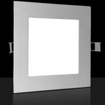 Painel Led 12w Luminaria Embutir Teto Parede Corredor Casa