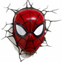 Luminária 3d Deco Light Fx Ultimate Spider-man Homem-aranha
