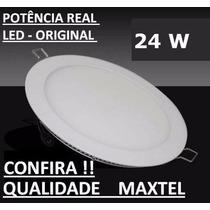 Lampada Embutir Led 24w Spot Plafon Redonda Kit 6