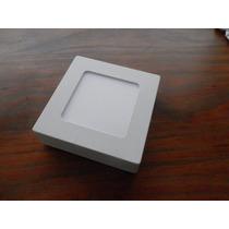 Plafon Luminaria Led 6 Watts Bi-volt Quadrado 12x12 Sobrepor