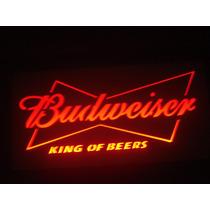 Luminoso Luminária Bar Budweiser
